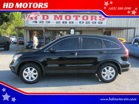2007 Honda CR-V for sale at HD MOTORS in Kingsport TN