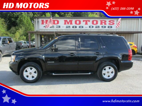 2010 Chevrolet Tahoe for sale at HD MOTORS in Kingsport TN