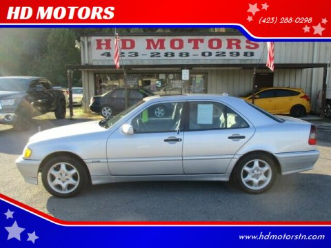 2000 Mercedes-Benz C-Class for sale at HD MOTORS in Kingsport TN