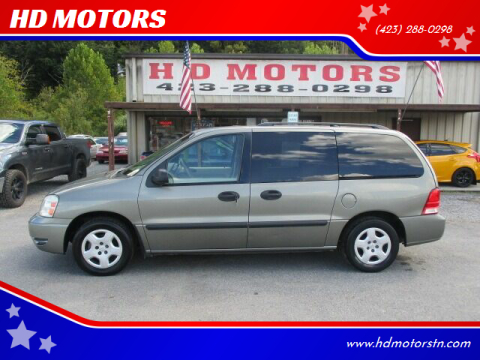 2005 Ford Freestar for sale at HD MOTORS in Kingsport TN