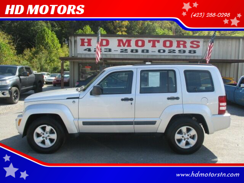 2010 Jeep Liberty for sale at HD MOTORS in Kingsport TN