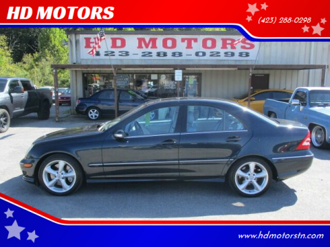 2005 Mercedes-Benz C-Class for sale at HD MOTORS in Kingsport TN