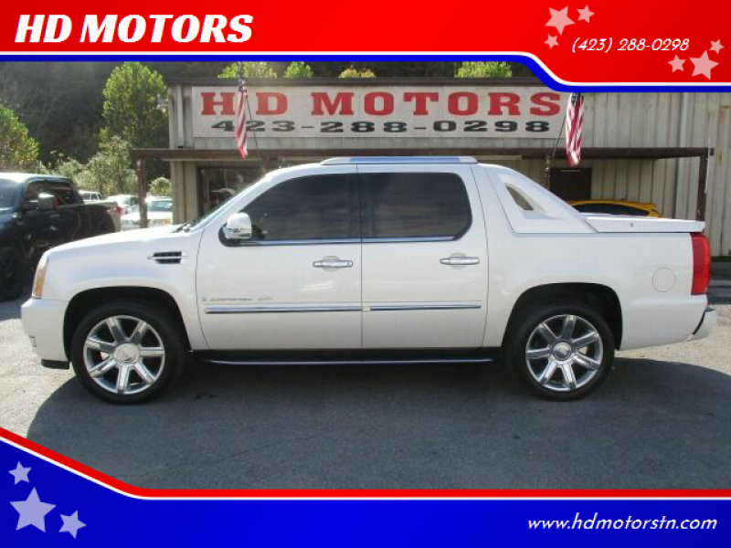 2007 Cadillac Escalade EXT for sale at HD MOTORS in Kingsport TN