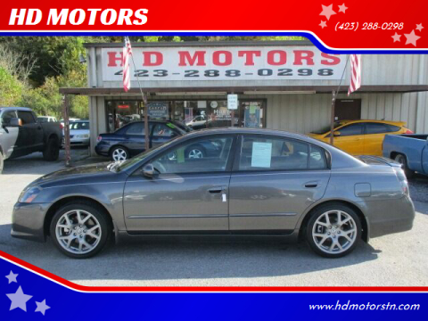 2006 Nissan Altima for sale at HD MOTORS in Kingsport TN