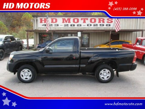 2013 Toyota Tacoma for sale at HD MOTORS in Kingsport TN