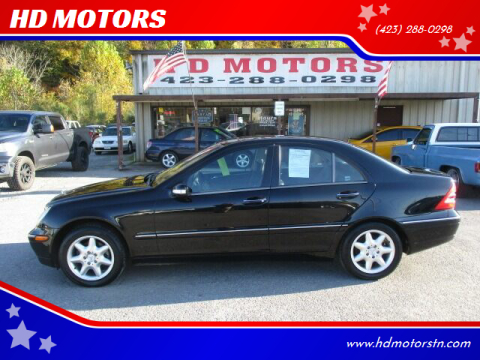 2002 Mercedes-Benz C-Class for sale at HD MOTORS in Kingsport TN
