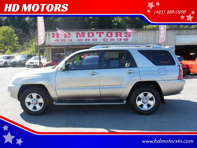 2003 Toyota 4Runner Limited 4WD 4dr SUV   Kingsport TN