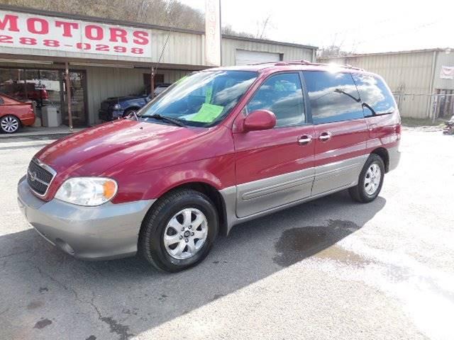 2005 kia sedona 4dr ex mini van in kingsport tn hd motors Hd motors kingsport tn