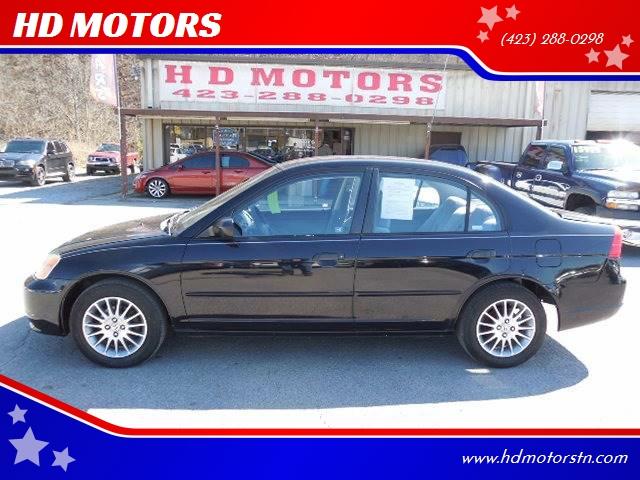 2001 honda civic lx 4dr sedan in kingsport tn hd motors. Black Bedroom Furniture Sets. Home Design Ideas
