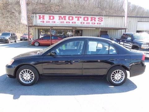 2001 Honda Civic For Sale In Kingsport Tn