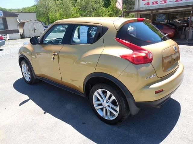2013 nissan juke s 4dr crossover in kingsport tn hd motors Hd motors kingsport tn