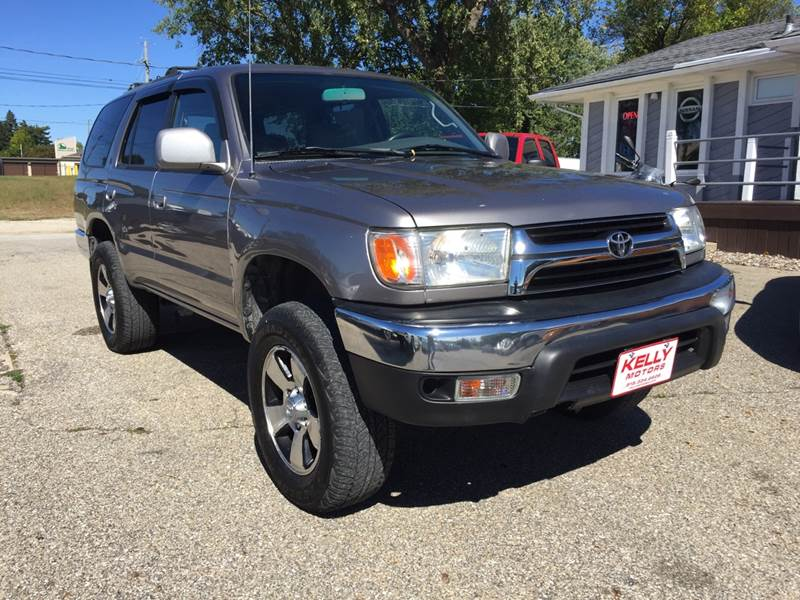 2001 Toyota 4Runner For Sale At Kelly Motors In Johnston IA
