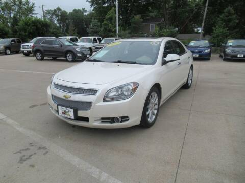 2012 Chevrolet Malibu for sale at Aztec Motors in Des Moines IA