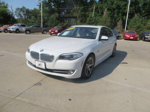 2012 BMW 5 Series for sale at Aztec Motors in Des Moines IA