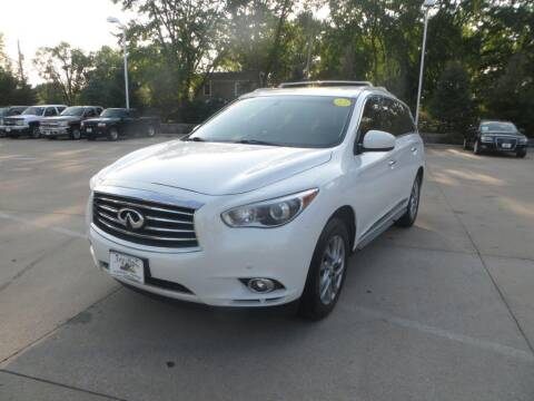 2013 Infiniti JX35 for sale at Aztec Motors in Des Moines IA