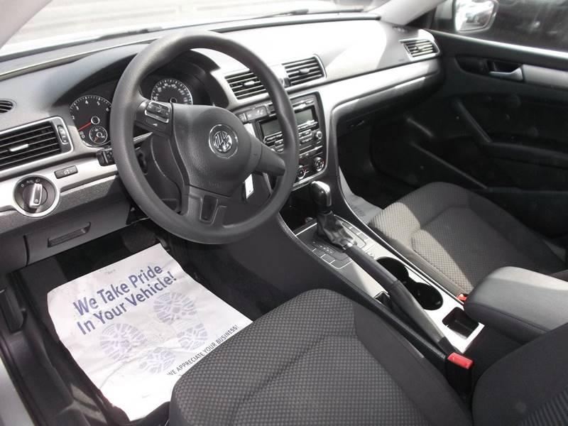 2013 Volkswagen Passat S PZEV 4dr Sedan 6A - Watertown NY