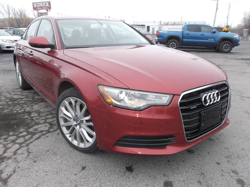 2014 audi a6 awd 3 0t quattro premium plus 4dr sedan in watertown ny rh widrickautosales com