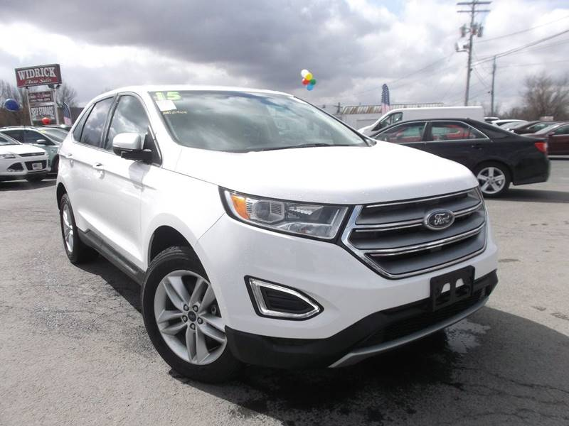 Ford Edge Awd Sel Dr Crossover Watertown Ny