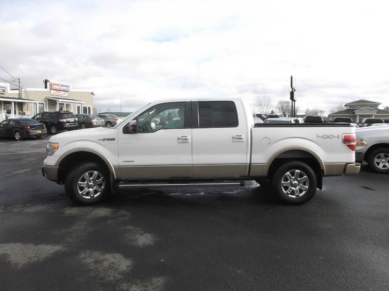 2013 Ford F-150 4x4 Lariat 4dr SuperCrew Styleside 5.5 ft. SB - Watertown NY