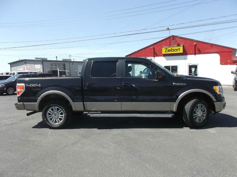 2011 Ford F-150 Lariat 4x4 4dr SuperCrew Styleside 5.5 ft. SB - Watertown NY