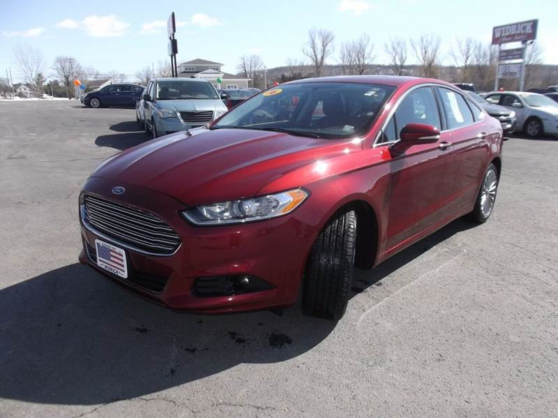 2016 Ford Fusion Titanium 4dr Sedan - Watertown NY