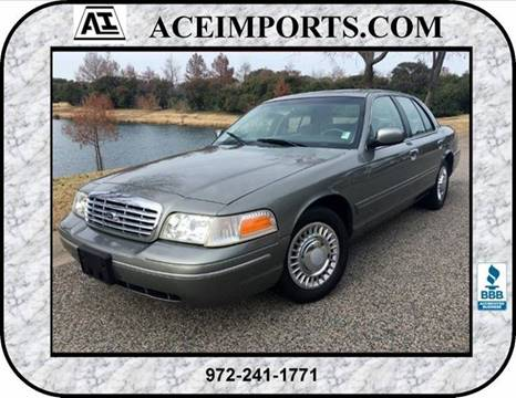 2000 Ford Crown Victoria for sale in Dallas, TX
