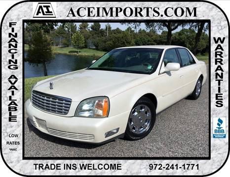 2002 Cadillac DeVille for sale in Dallas, TX