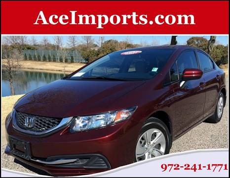 2015 Honda Civic for sale in Dallas, TX