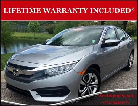 2016 Honda Civic for sale in Dallas, TX