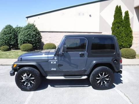 2002 Jeep Wrangler for sale in Springdale, AR