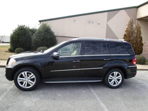 2012 Mercedes-Benz GL-Class GL 450 4MATIC for sale at JON DELLINGER AUTOMOTIVE in Springdale AR