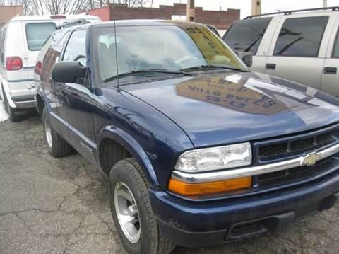 2001 chevy blazer 4x4 for sale