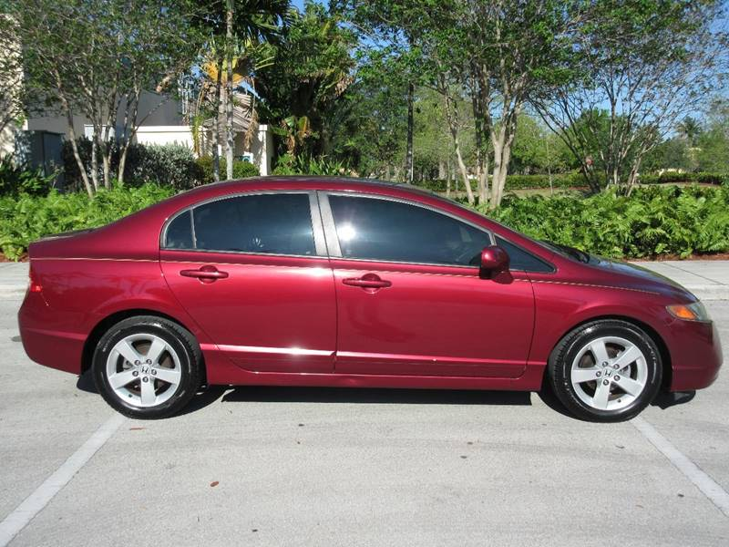 2008 Honda Civic for sale at FIRST FLORIDA MOTOR SPORTS in Pompano Beach FL