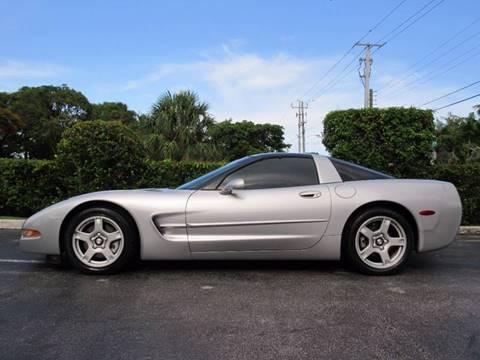 1999 Chevrolet Corvette for sale at FIRST FLORIDA MOTOR SPORTS in Pompano Beach FL