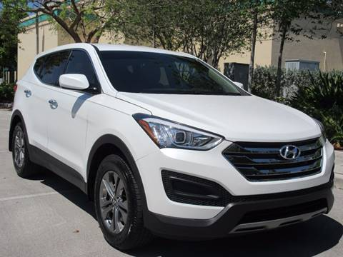 2014 Hyundai Santa Fe Sport for sale at FIRST FLORIDA MOTOR SPORTS in Pompano Beach FL
