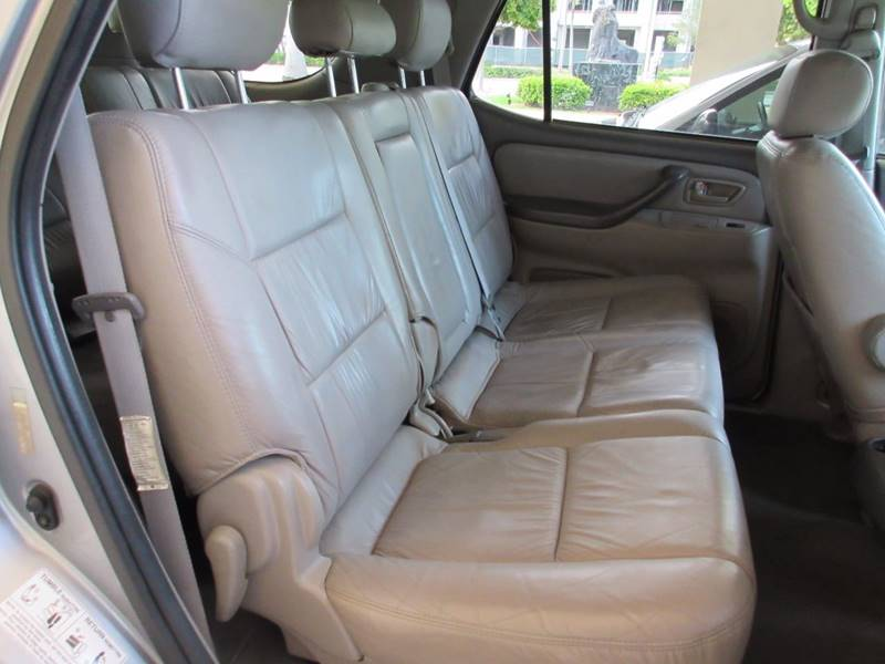 2003 Toyota Sequoia for sale at FIRST FLORIDA MOTOR SPORTS in Pompano Beach FL