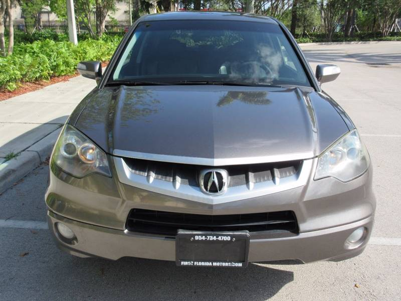 2007 Acura RDX for sale at FIRST FLORIDA MOTOR SPORTS in Pompano Beach FL