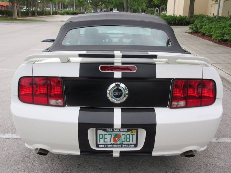2007 Ford Mustang for sale at FIRST FLORIDA MOTOR SPORTS in Pompano Beach FL