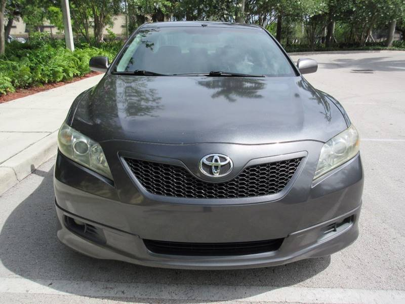 2008 Toyota Camry for sale at FIRST FLORIDA MOTOR SPORTS in Pompano Beach FL