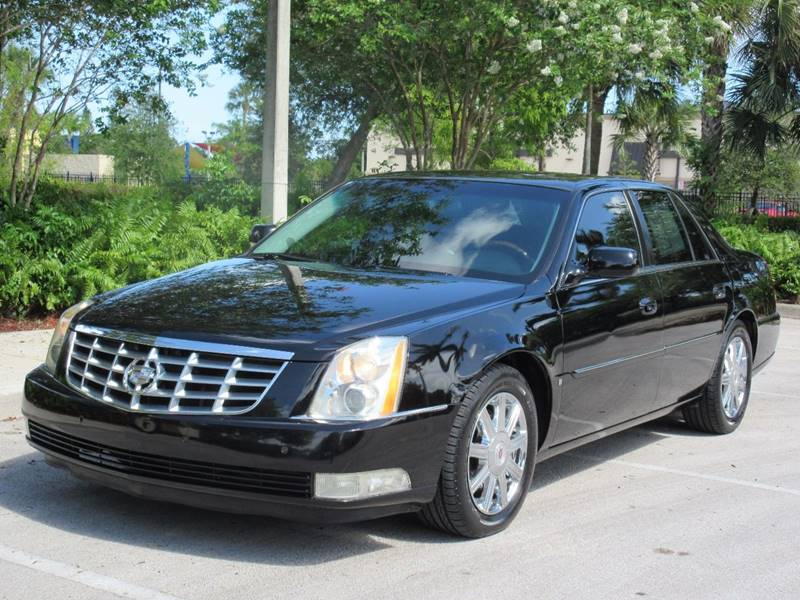 2008 Cadillac DTS for sale at FIRST FLORIDA MOTOR SPORTS in Pompano Beach FL