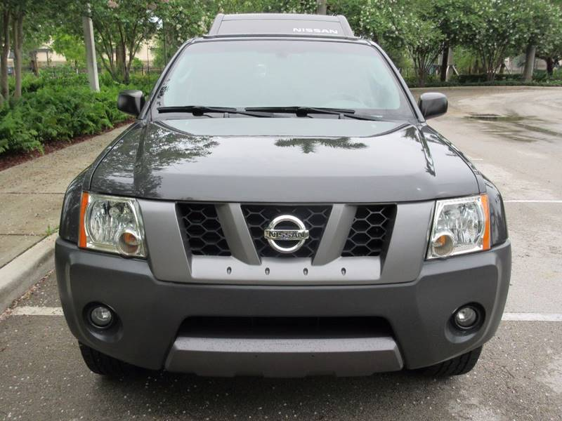 2007 Nissan Xterra for sale at FIRST FLORIDA MOTOR SPORTS in Pompano Beach FL