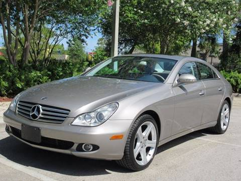2006 Mercedes-Benz CLS for sale at FIRST FLORIDA MOTOR SPORTS in Pompano Beach FL