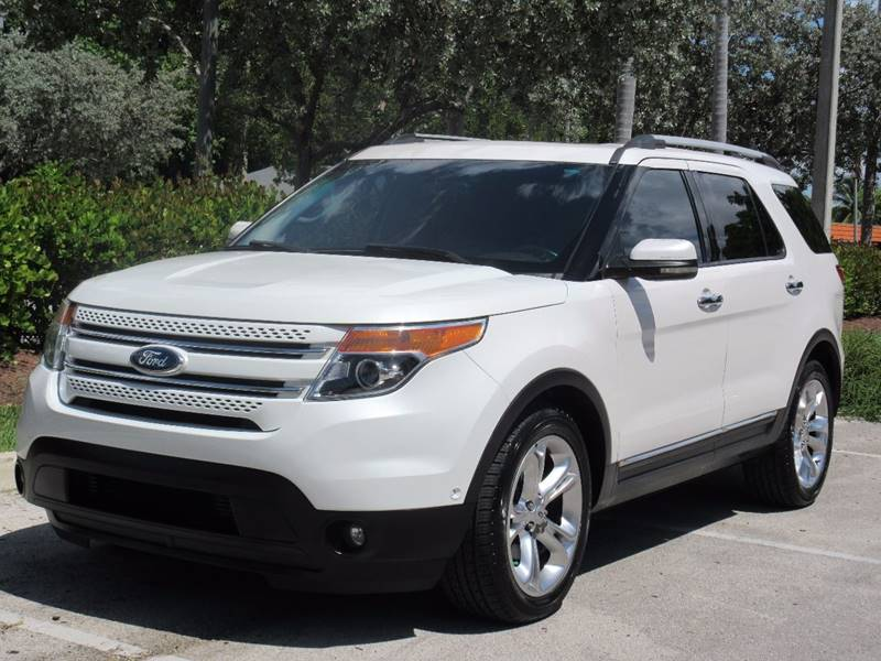 2012 Ford Explorer for sale at FIRST FLORIDA MOTOR SPORTS in Pompano Beach FL