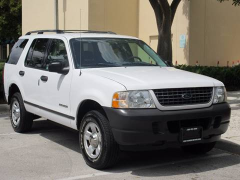 2004 Ford Explorer for sale at FIRST FLORIDA MOTOR SPORTS in Pompano Beach FL