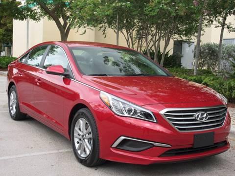 2017 Hyundai Sonata for sale at FIRST FLORIDA MOTOR SPORTS in Pompano Beach FL