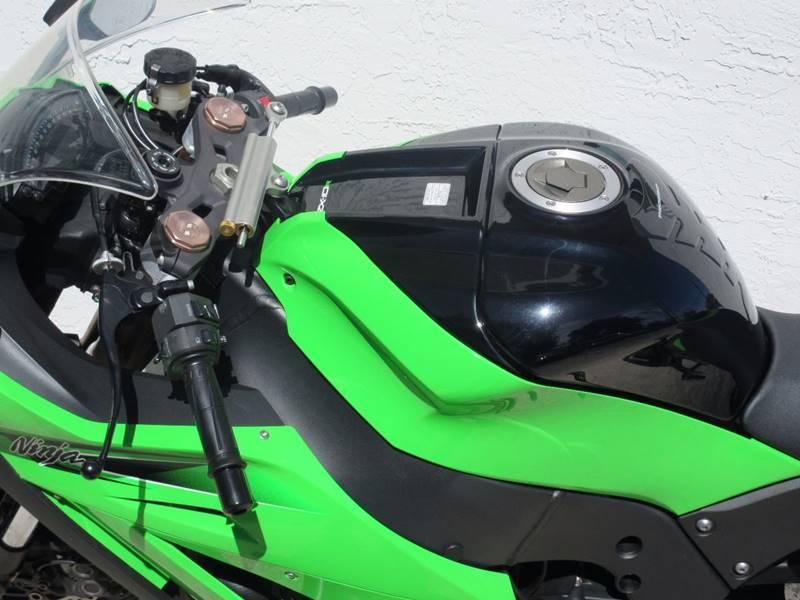 2011 Kawasaki Ninja ZX-10R for sale at FIRST FLORIDA MOTOR SPORTS in Pompano Beach FL