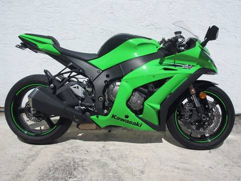 2011 Kawasaki Ninja ZX-10R for sale at FIRST FLORIDA MOTOR SPORTS in Pompano Beach FL