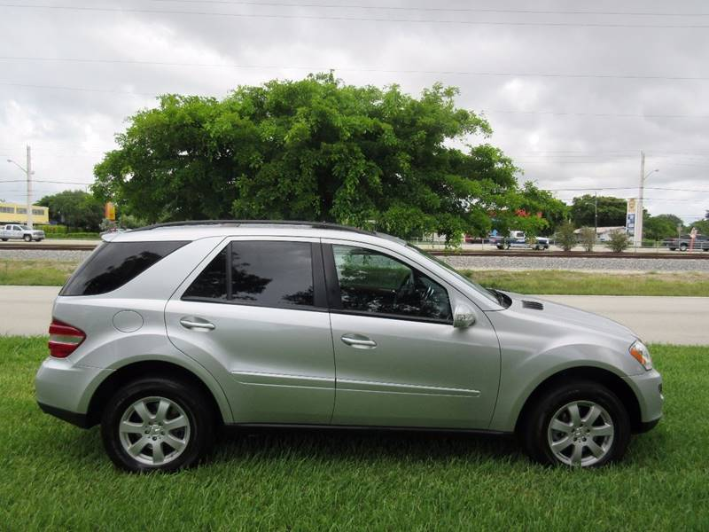 2007 Mercedes-Benz M-Class for sale at FIRST FLORIDA MOTOR SPORTS in Pompano Beach FL