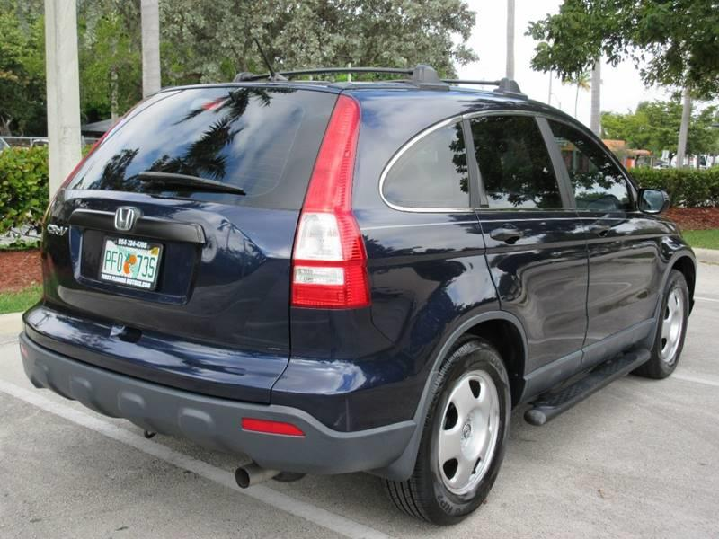 2007 Honda CR-V for sale at FIRST FLORIDA MOTOR SPORTS in Pompano Beach FL