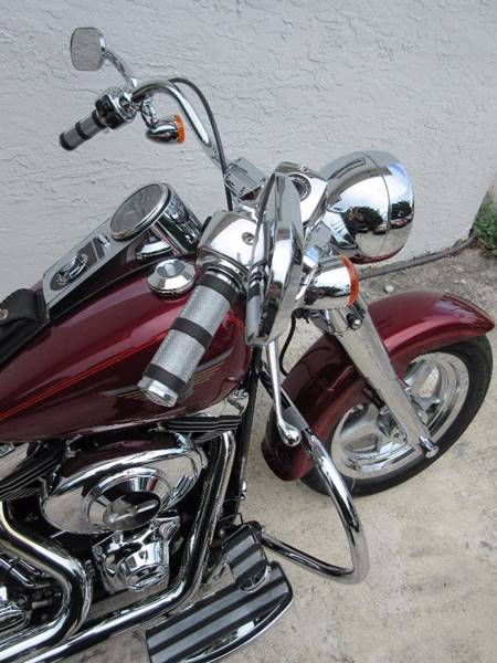 2001 Harley-Davidson FAT BOY / FLSTFi for sale at FIRST FLORIDA MOTOR SPORTS in Pompano Beach FL